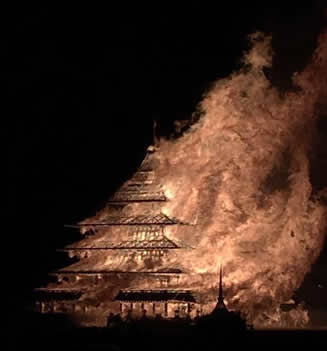 Burning Man Temple Burn 2016