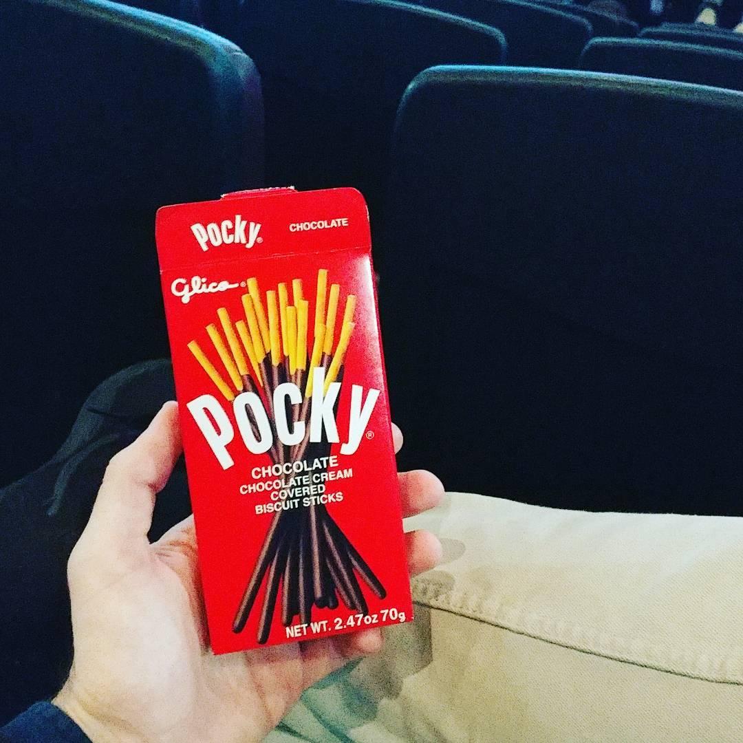They got Pocky now #❤️ #🎄