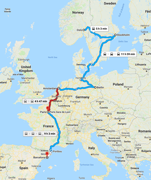 My Planned Route