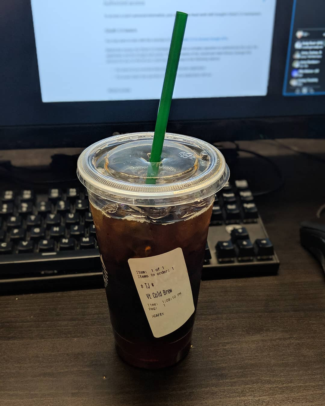 Sometimes Starbucks makes me feel a bit like Odin. I seem to have as many names as there are winds, as many titles as there are ways to die. Now I just need a couple ravens and wolves and people will start calling me alldaddy.