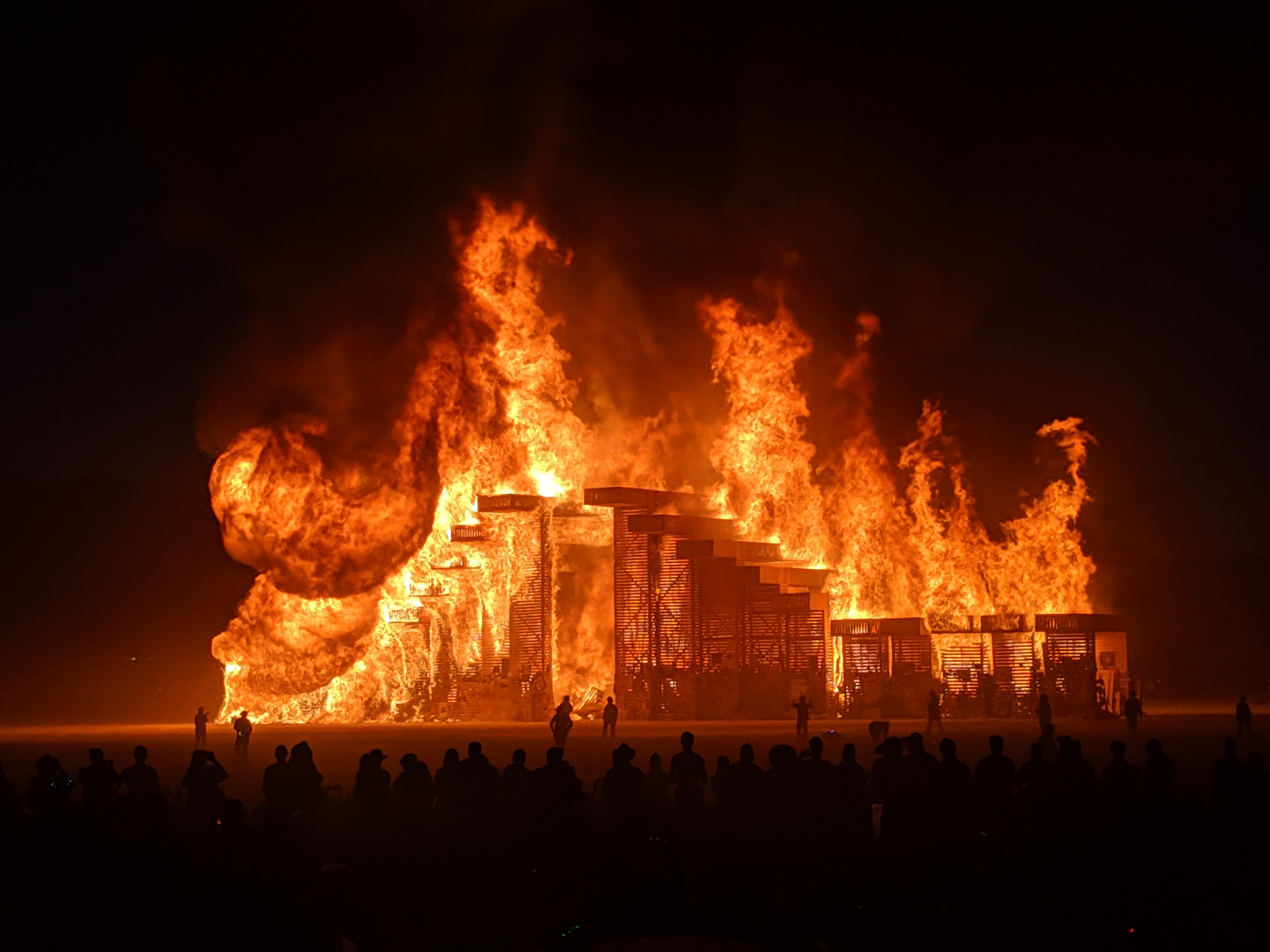 2019 Temple Burn