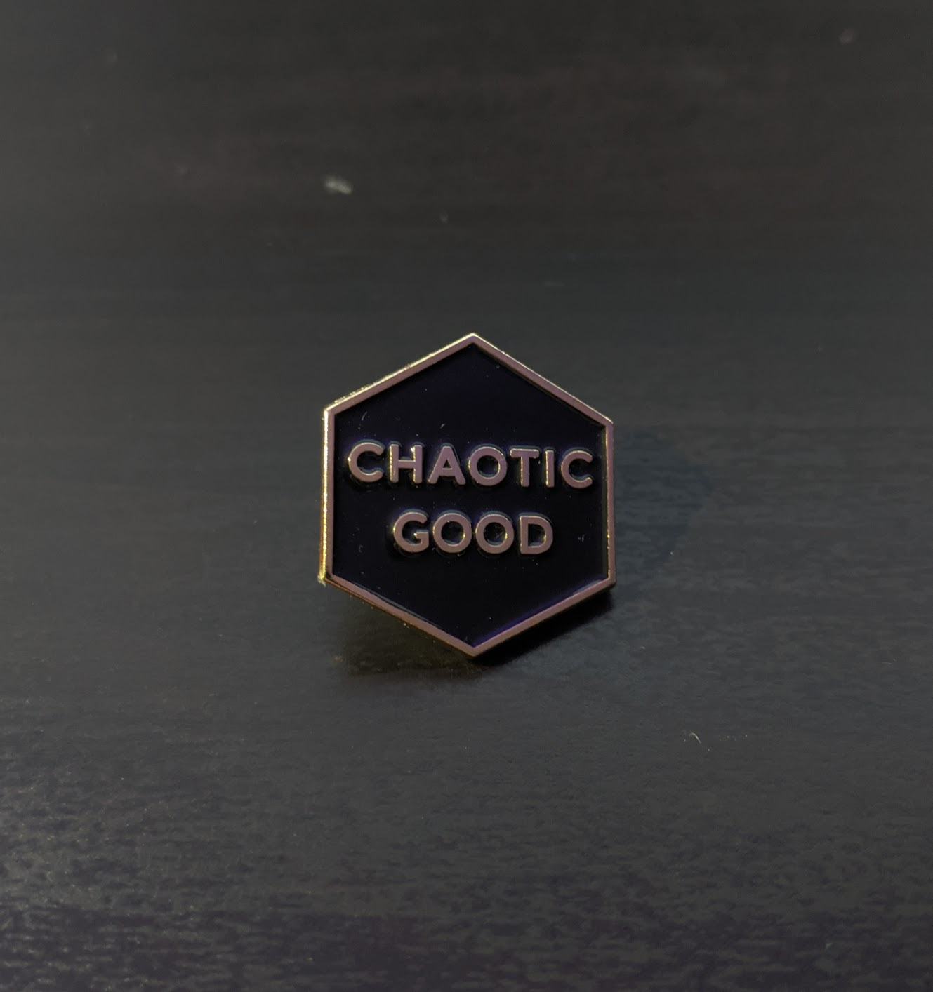 Chaotic Good Enamel Pin