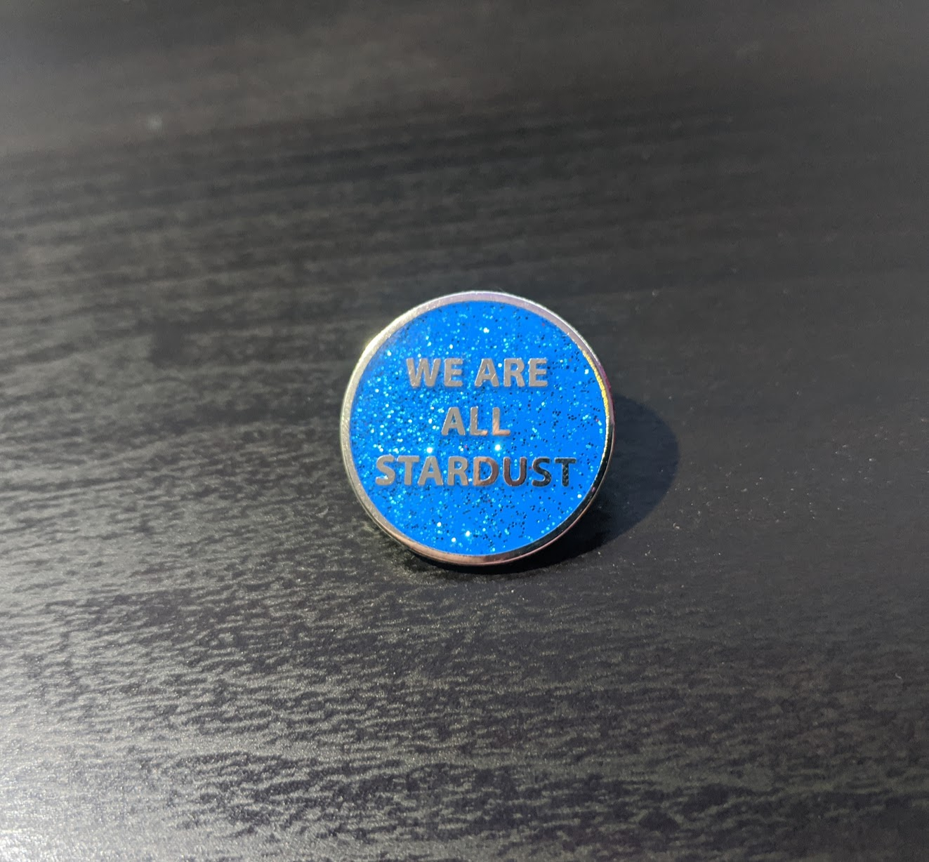 We Are All Stardust Enamel Pin