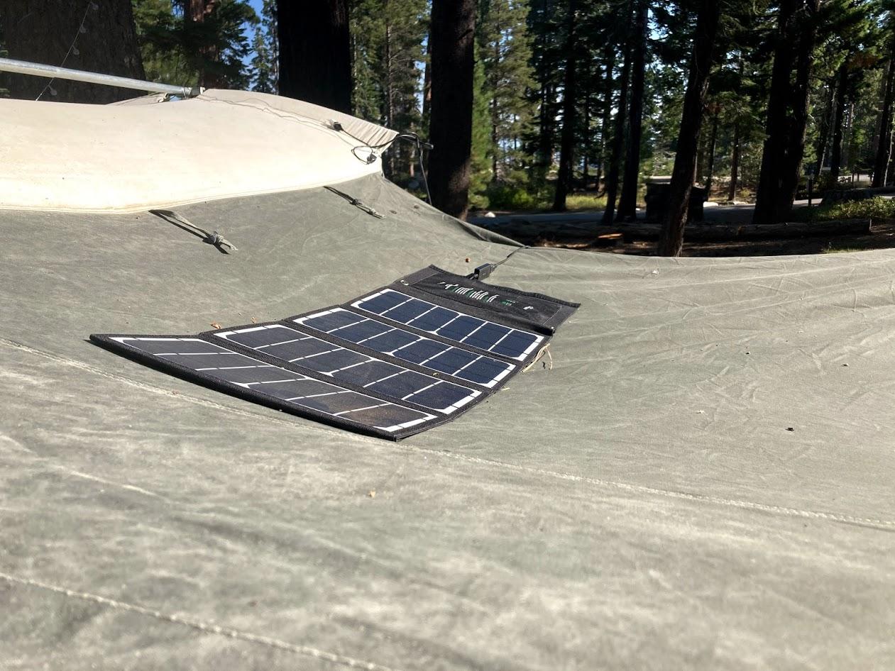 Anker 28w solar panel