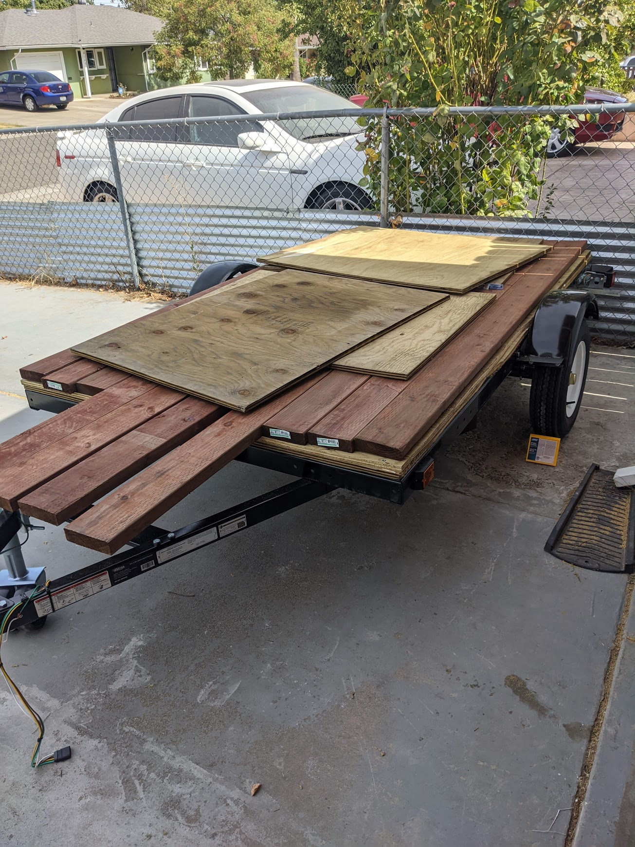 Trailer Construction 7